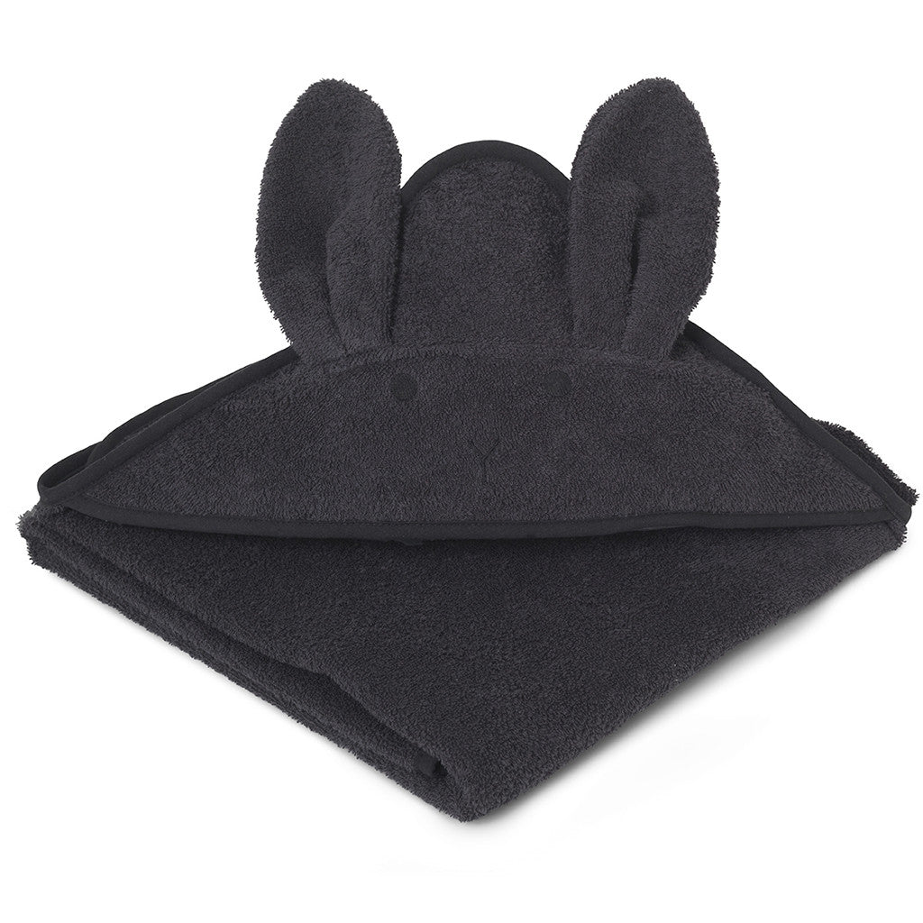 BADEHÅNDKLE - LIEWOOD RABBIT (DARK GREY)