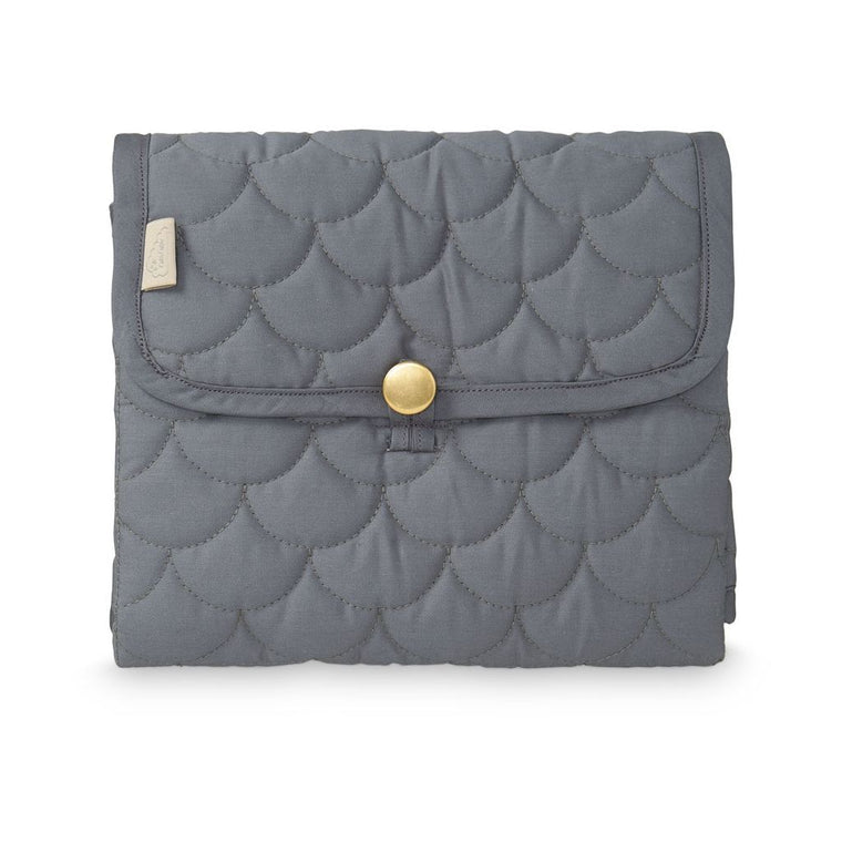 STELLEMATTE - CAM CAM QUILTED (CHARCOAL)