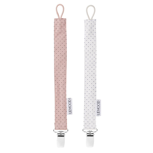 SMOKKEHOLDERE - LIEWOOD LITTLE DOT (ROSE/CREME)