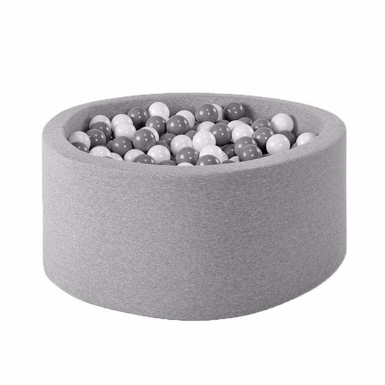 BALLBASSENG - ROUND 90X40 (LIGHT GREY)