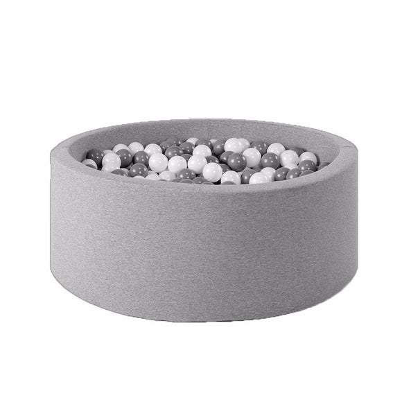 BALLBASSENG - ROUND 115X40 (LIGHT GREY)