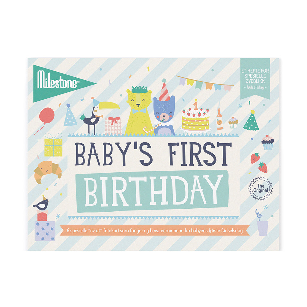 BABY BOOKLET - MILESTONE™ SPECIAL MOMENTS BURSDAG