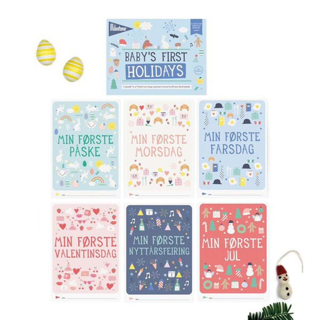 BABY BOOKLET - MILESTONE™ SPECIAL MOMENTS HØYTIDER