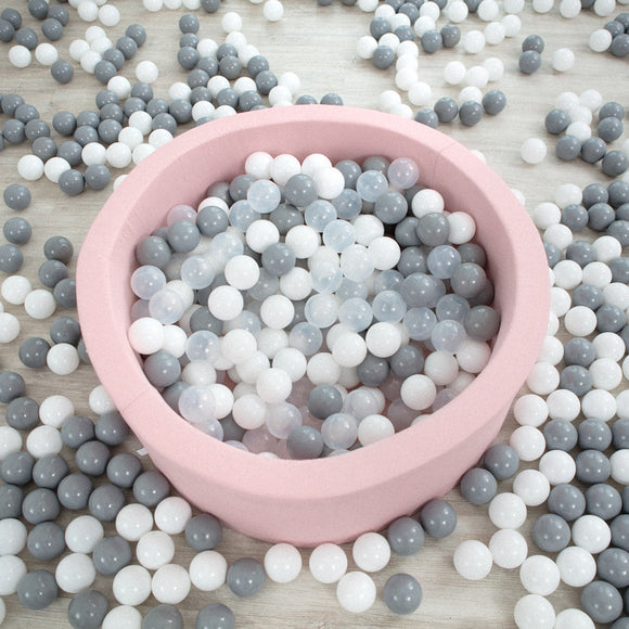 BALLBASSENG - ROUND 90X40 (LIGHT PINK)