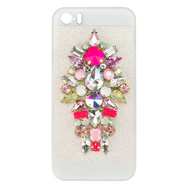 EMBELLISHED IPHONE CASE - PINK