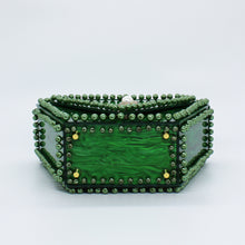 Emerald Diamond Clutch