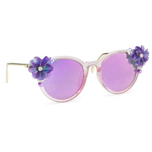 Petal Sunnies - Purple Hologram