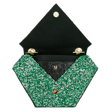 Custom Diamond Bag - Emerald Green
