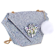 Custom Crystal Diamonte Diamond Bag