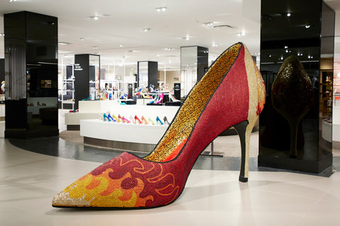 Bloomingdales The Heart of Shoe York Instagrammable Shoe