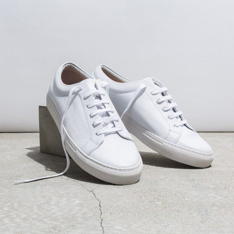 COS Lace Up Leather Sneaker for Men