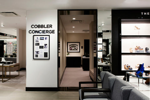 Cobbler Concierge At Bloomingdales The Heart of Shoe York New Floor