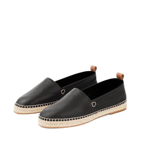Loewe Espadrille Black Spring 18 Men's Footwear Trends Cobbler Concierge