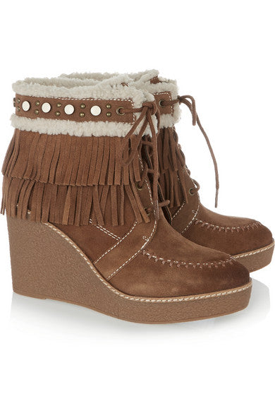 Sam Edelman Kemper Fringed Wedges