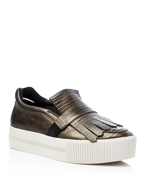 Ash King Metallic Platform Sneakers