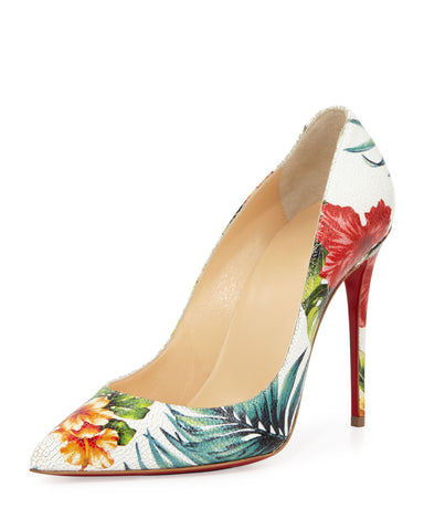 Christian Louboutin's tropical design
