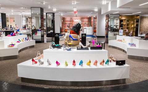 "Bloomingdales ""The Heart of Shoe York"" New Floor with Cobbler Concierge"