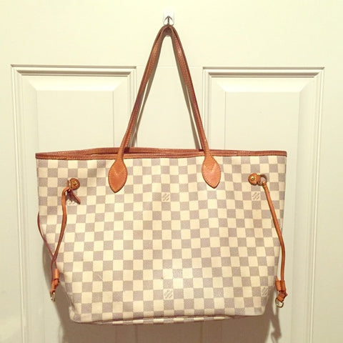 Repaired Louis Vuitton Neverfull Purse Cobbler Concierge