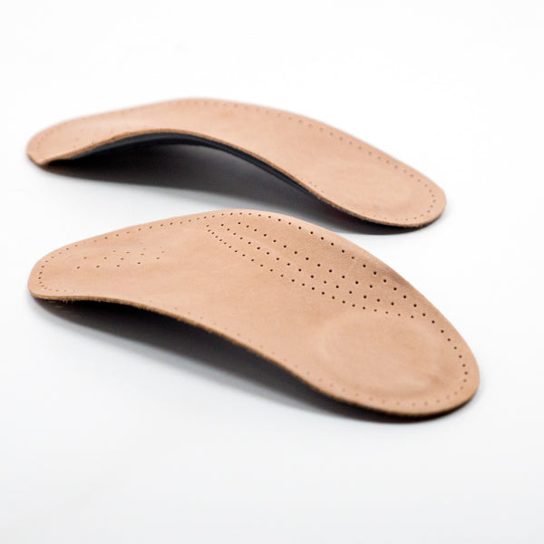 Premium Half Leather Arch Support (one pair)