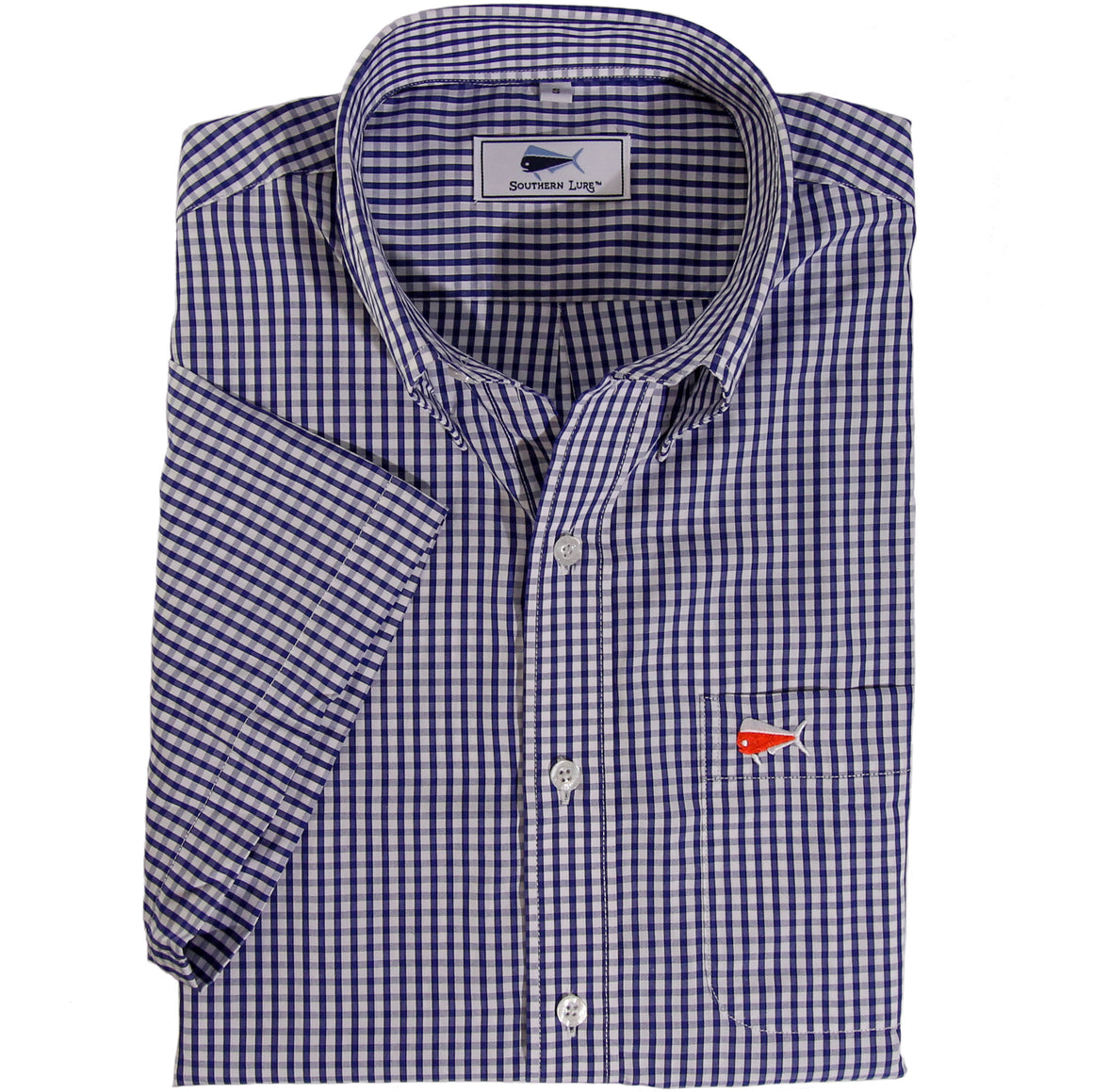 Royal Blue Short Sleeve Sport Shirt