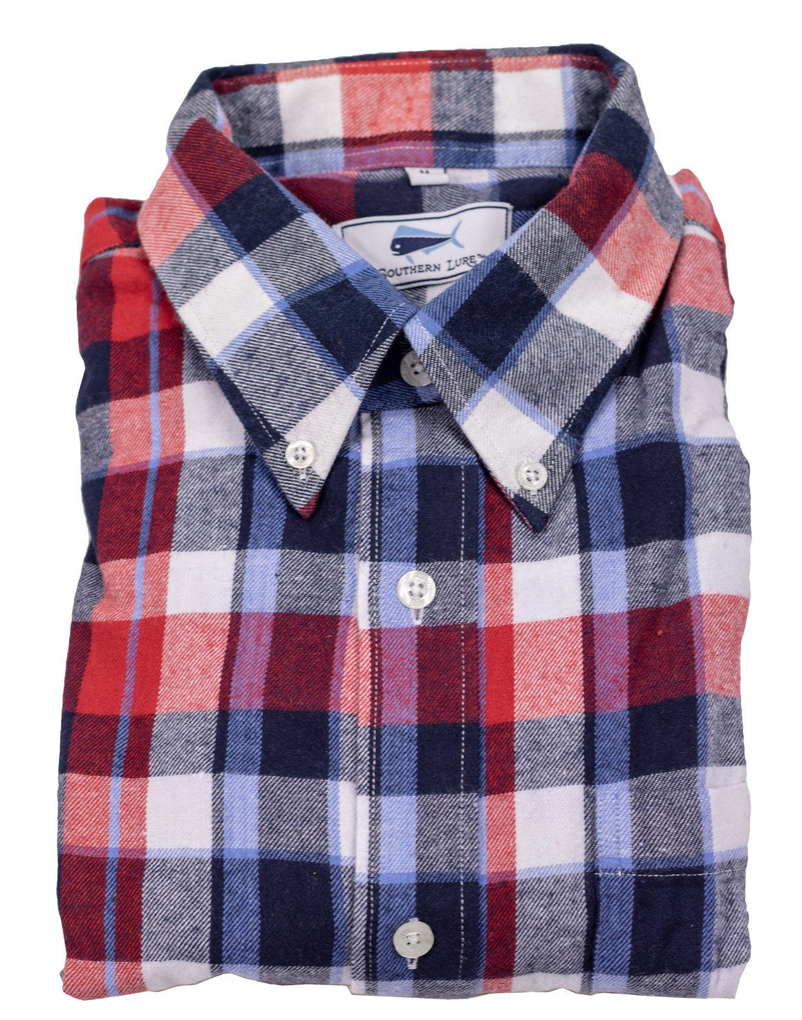 Flannel Shirt - Red/Blue/Navy