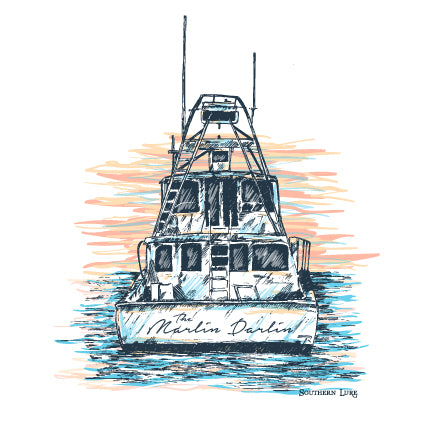 SS Tee - Charter Boat - White