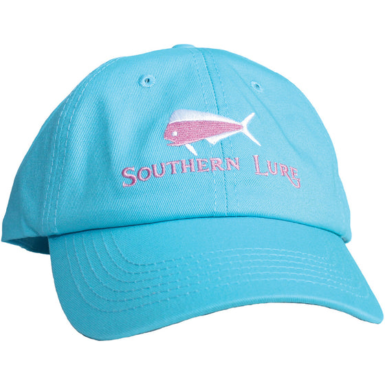 Aqua Unstructured Hat