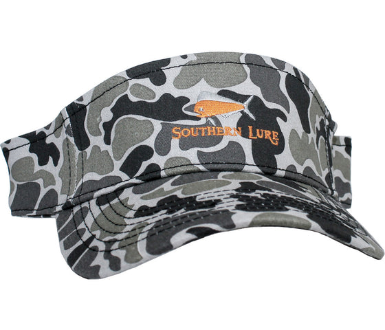 Camo Embroidered Visor