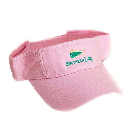 Light Pink Pro Style Cotton Twill Washed Visor