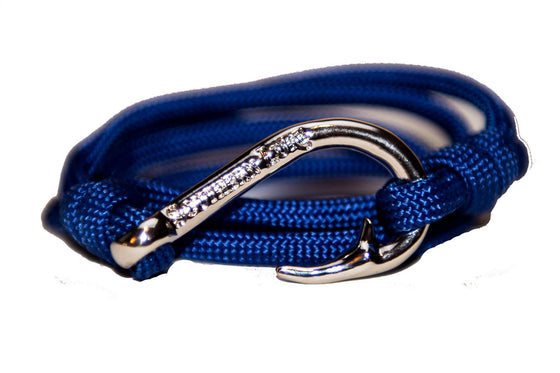 Royal Blue Rope Bracelet