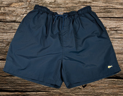 Navy Swim Trunks