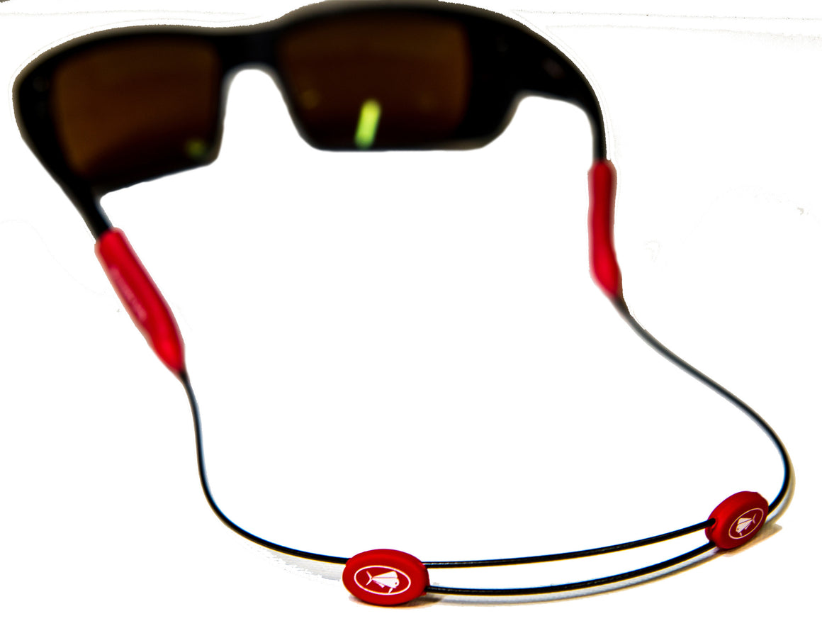 Wire Sunglass Straps - Red