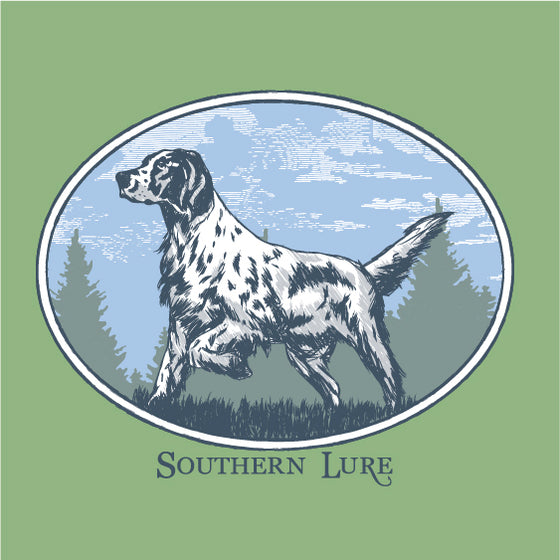LS Tee - Vintage Dog - Bay
