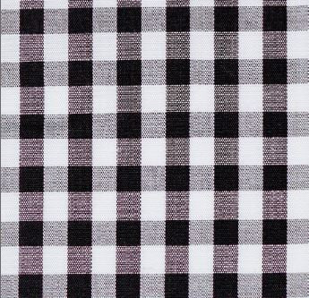 Woven Sport Shirt - Black Medium Gingham