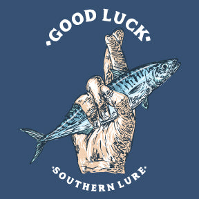 Youth - SS Tee - Good Luck - Slate
