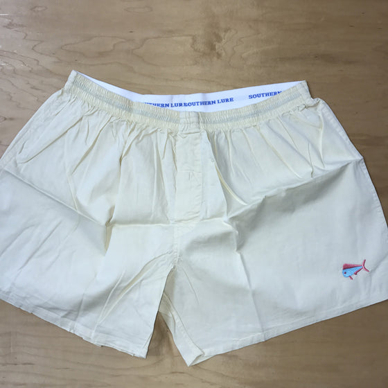 Pale Yellow Solid Boxers