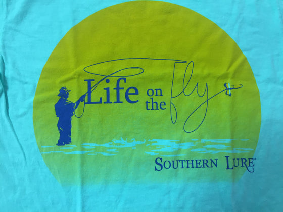 Youth Tee - Life on the Fly - Mint