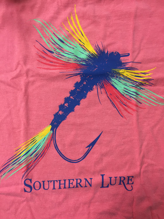Youth Lure Tee - Coral