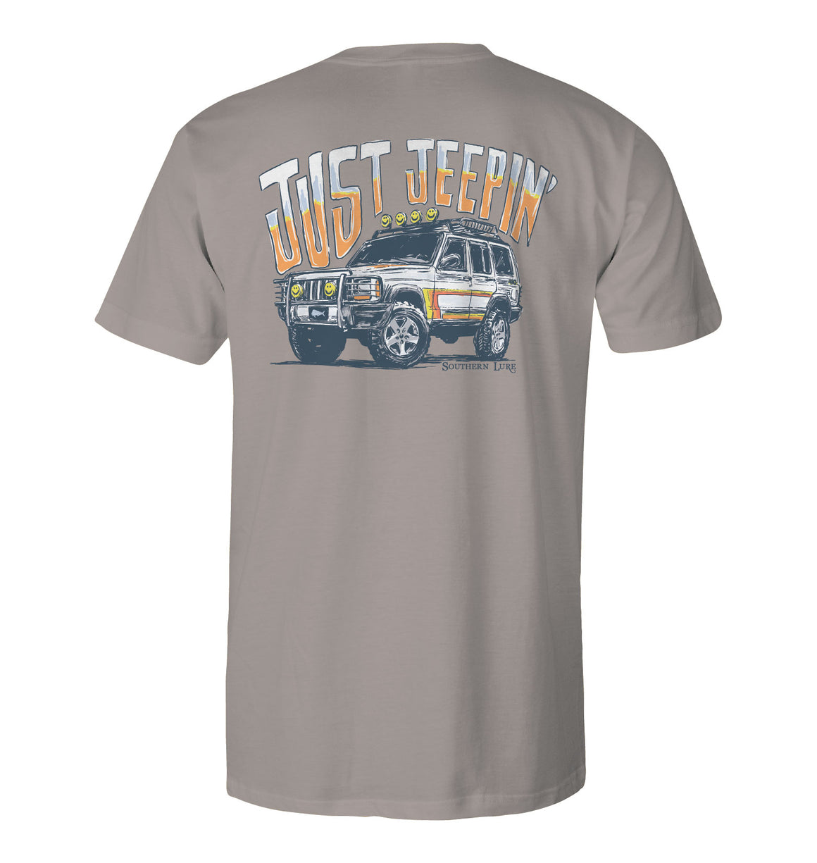 Youth Short Sleeve Tee - Jeepin - Granite