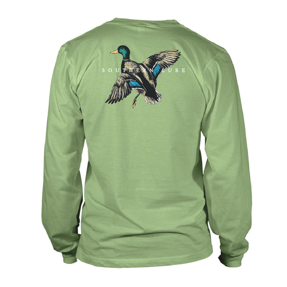 Boy's Youth & Toddler Long Sleeve Cotton Tshirt  - Mallard - Bay