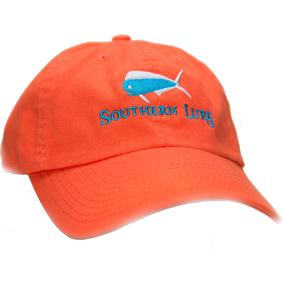 Orange Unstructured Hat