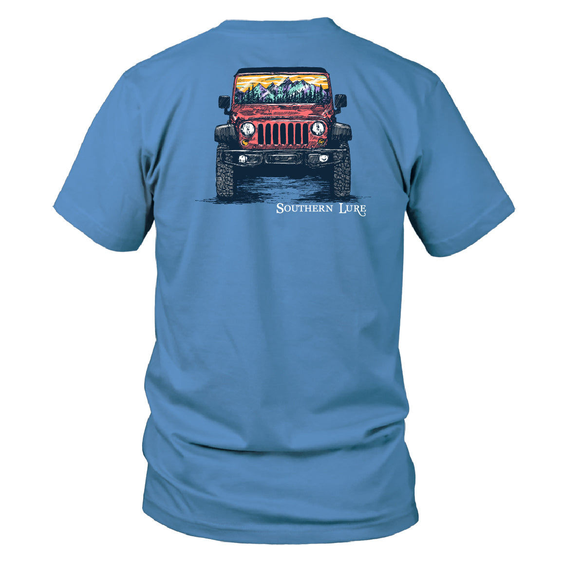 Youth - SS Tee - Packrat Jeep 2 - Dusk