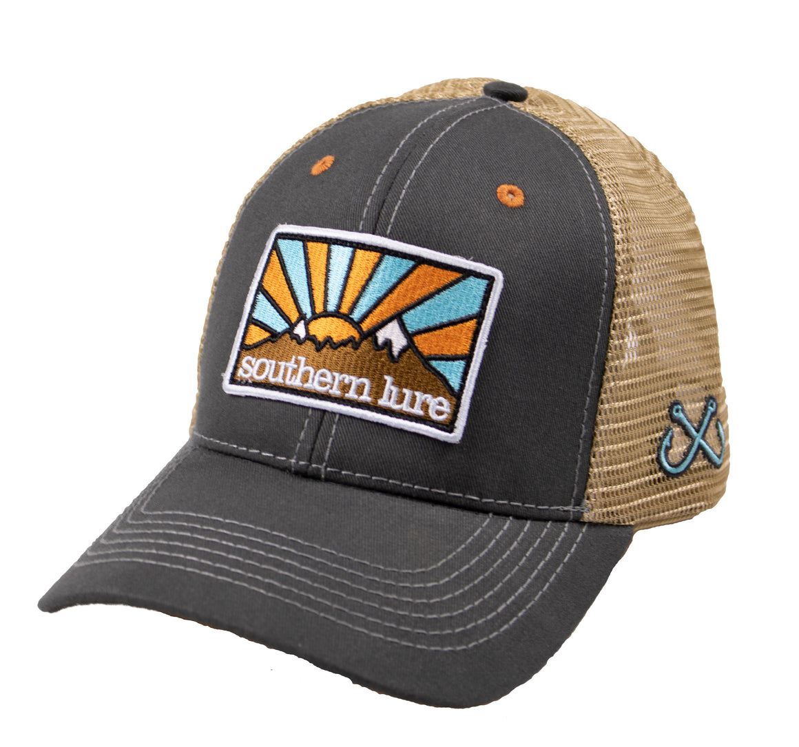 Youth - Trucker Hat - Rays - Grey/Tan