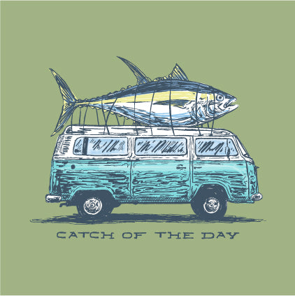 SS Tee - Catch of the Day - Bay
