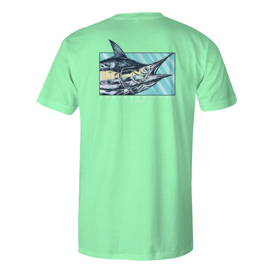 Men's Short Sleeve Tee - Marlin 21 - Mint