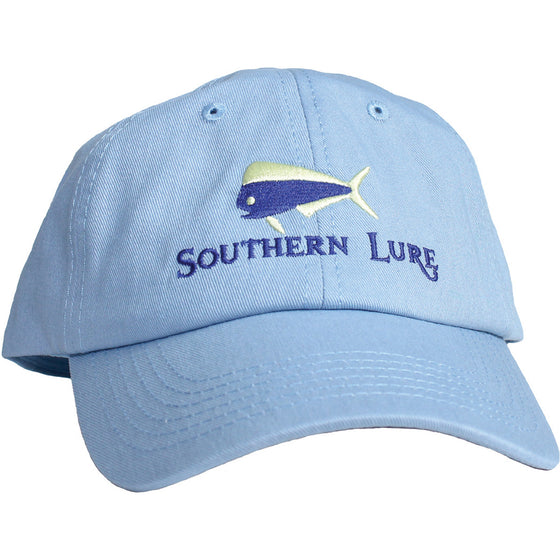Sky Blue Unstructured Hat