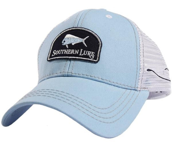 Youth Trucker Hat - Hook - Sky Blue