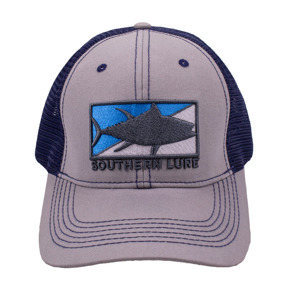 Trucker - Tuna Patch - Granite/Navy