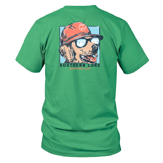 Boy's Youth & Toddler Short Sleeve Cotton Tee - Good Boys Club - Seafoam