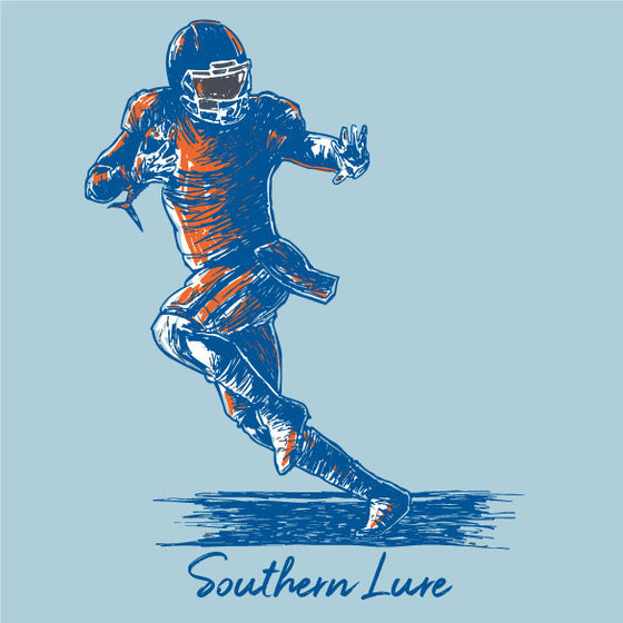 Youth & Toddler - Short Sleeve Tee - Heisman - Sky Blue